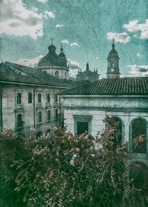 Colonial Architecture at Historic Center of Bogota Colombia by Daniel Ferreira Leites Ciccarino