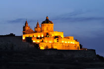 Night shot of Mdina, Malta von Frank Mitchell