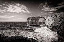 The Azure Window by Frank Mitchell