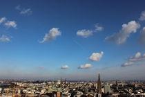 Wolken über Hamburg von Hendrik Molch