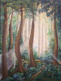 Waldpfad von Anna Tabor