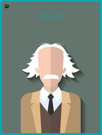 Albert Einstein von Diretório  do Design