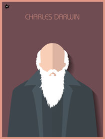 Charles Darwin by Diretório  do Design