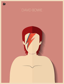 David Bowie von Diretório  do Design
