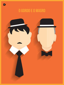 Laurel & Hardy von Diretório  do Design