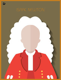 Isaac Newton by Diretório  do Design