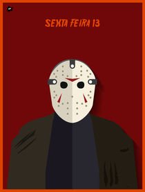 Jason Voorhees - Friday the 13th by Diretório  do Design
