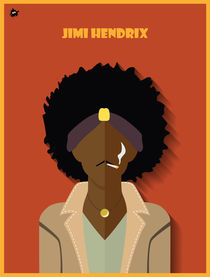 Jimi Hendrix by Diretório  do Design