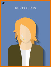 Kurt Cobain by Diretório  do Design