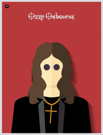 Ozzy Osbourne by Diretório  do Design