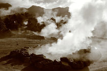 Sleeping volcano von Gaspar Avila