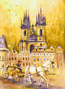 Prague Authentic 02 von Miki de Goodaboom