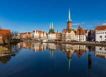 Die Lübecker Obertrave I von Johann Stubhan