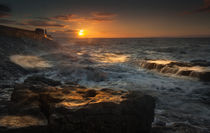 Porthcawl sunrise by Leighton Collins