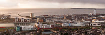 Daybreak over Swansea city by Leighton Collins