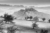 Winter at Carreg Cennen Castle by Leighton Collins