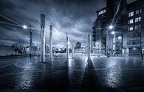 Swansea City Blue Mood von Leighton Collins