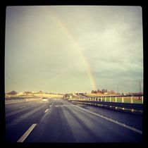 Street rainbow  von Azzurra Di Pietro