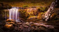 Pen-y-fan waterfall by Leighton Collins