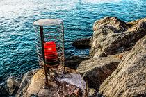 red Light on the Rock von Kurt Gruhlke