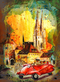 Regensburg Authentic Madness von Miki de Goodaboom