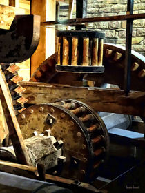 Gears in a Grist Mill von Susan Savad