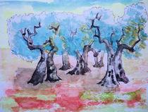 Olivenhain 2 by Gerhard Stolpa