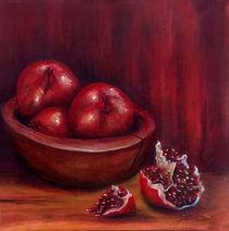 Still life #4- Pomegranates  von Thom Lupari