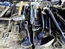 Blacksmith Tools by Susan Savad