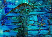 Smaragd and Blue von Werner Winkler