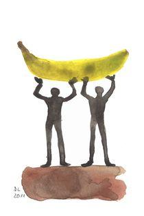 Bananenschlepper von Doris Lasar