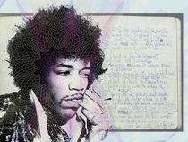 Jimi Hendrix - In Rock We Trust (Bank Note Design) by Donald K.
