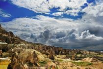 Early spring in Cappadocia, Turkey von Yuri Hope