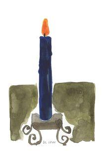Kerze von Doris Lasar
