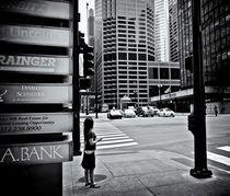 Chicago Street Scene by Ken Dvorak