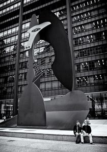 Picasso in Chicago von Ken Dvorak