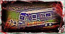 ~Bright Colors Camping~ von Sandra  Vollmann