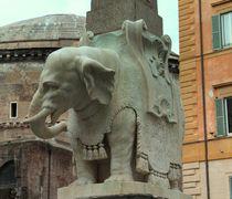 Brunnenfigur (Rom, Detail) von visual-artnet