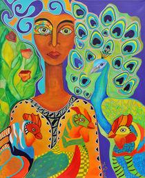 Paradisvogel von Jeanett Rotter