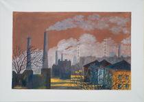 Industrielandschaft von Helga Mosbacher