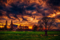 Wolke über Schloss von Stefan Kierek