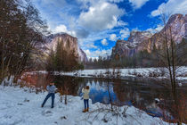 Yosemite forest by louloua-asgaraly