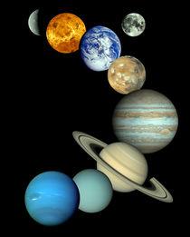 Solar System Montage von Stocktrek Images