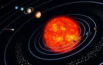 Solar System von Stocktrek Images