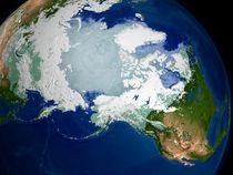Circum-Arctic permafrost von Stocktrek Images