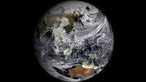 Cloud simulation of the full Earth.  von Stocktrek Images