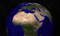 Global view of Earth. von Stocktrek Images