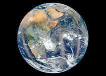 Full Earth showing the eastern hemisphere. von Stocktrek Images