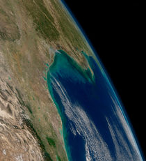 View of the northern Gulf of Mexico. von Stocktrek Images
