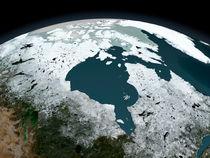 Hudson Bay sea ice on November 14, 2005.